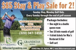 Play & Stay for 2