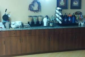 Coffee Bar & Breakfast Area