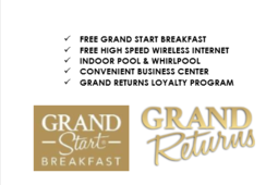 500 or 1000 Bonus Grand Returns Guest Loyalty Points