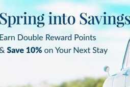 Jump Into Spring with Double Points