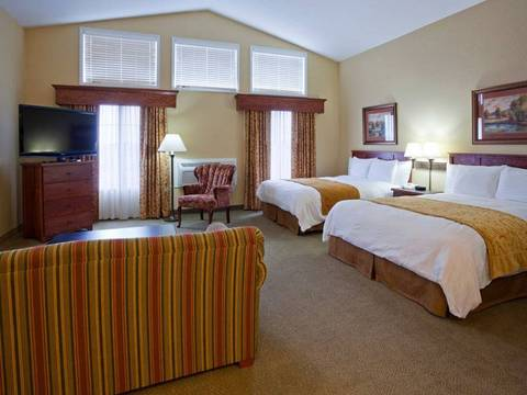 The Studio Sutie at GranStay Hotels in Faribault, MN features luxurious...