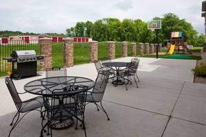 Patio & Sport Court
