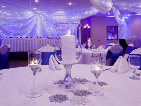 The Apple Valley wedding venue and banquet hall at the LaGrand Conference...