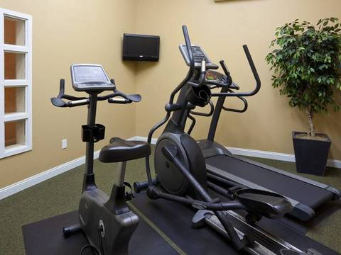24 Hour On-Site Fitness Room