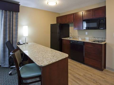 One Bedroom King Suite Kitchenette