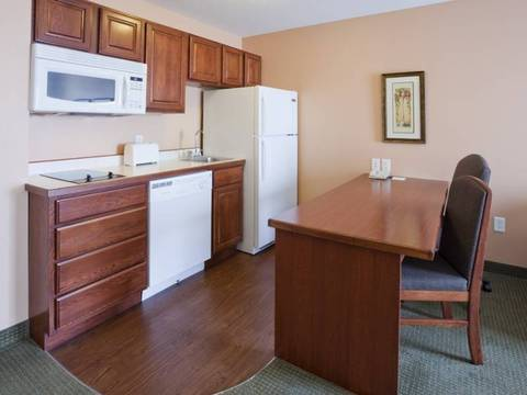 Feel right at home with GrandStay extended stay Sheboygan hotel rooms...