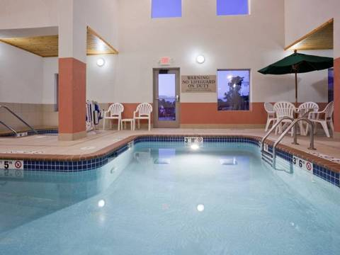 Visit the GrandStay Sheboygan Hotel with a pool and enjoy the calming deseret...