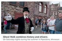 "A Summer ""Must Do"" Historic Ghost Walk"