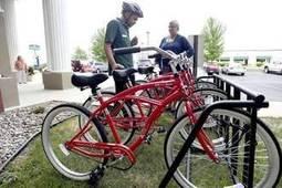 Visitor's Bureau debuts bike sharing pilot program