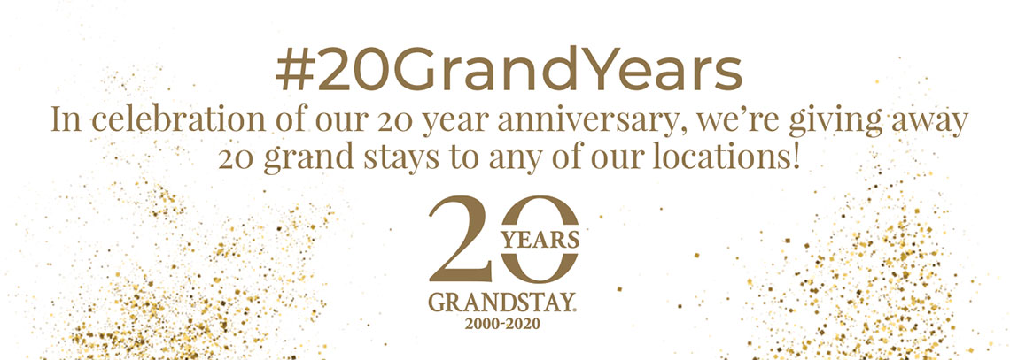 20 Grand Years Giveaway