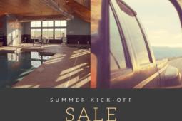 Summer Kick-Off Sale